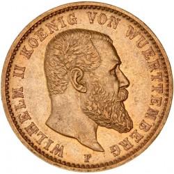 Allemagne - Wurtemberg - 20 mark 1905
