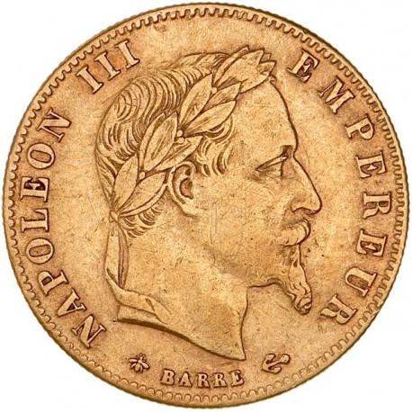 5 francs Napoléon III 1862 A