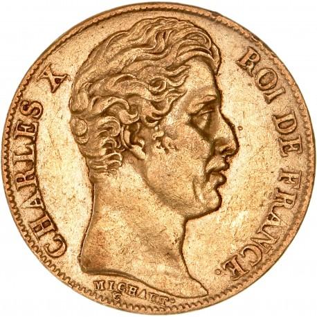 20 francs Charles X 1825 A Paris