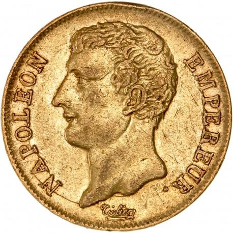 20 francs Napoléon Ier - buste intermédiaire - an 12 A