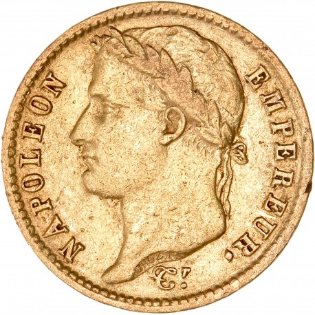 20 francs Napoléon Ier - 1808 A
