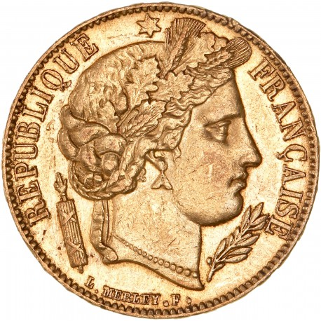 20 francs Cérès 1850 A