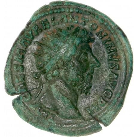 Marc Aurèle - Dupondius de Rome