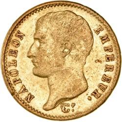 20 francs Napoléon Ier tête nue  - 1807 A