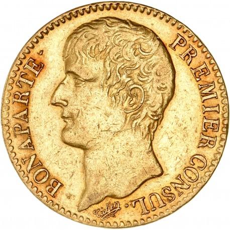 40 francs Bonaparte Ier Consul an 12 A