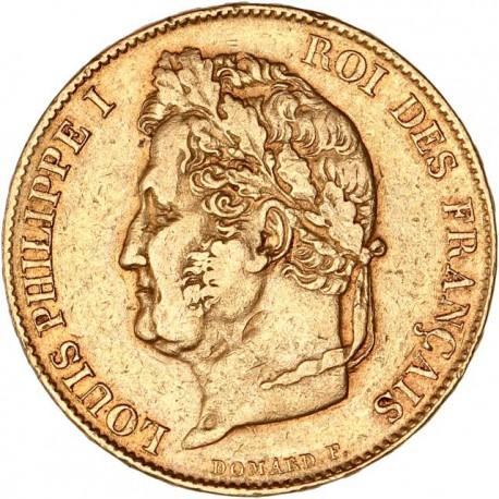20 francs Louis Philippe Ier  1834 A