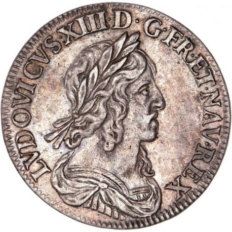 Louis XIII - Quart d'écu deuxième poinçon 1642 A