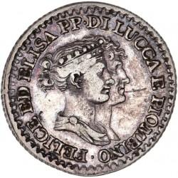 Italie - Lucques & Piombino - 1franco 1808