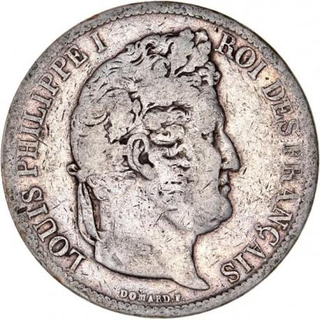5 francs Louis Philippe Ier 1831 D