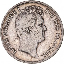 5 francs Louis Philippe Ier  1830 A