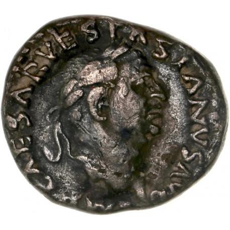 Denier  de Vespasien - Rome