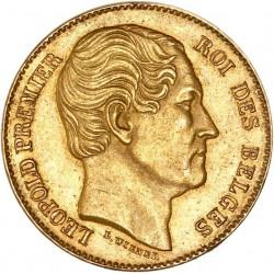 Belgique - 20 francs Léopold Ier 1865