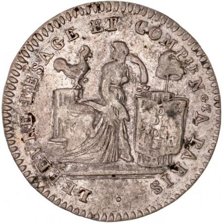 10 sols Lefèvre Lesage et Cie 1792