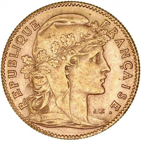 10 francs Marianne 1914