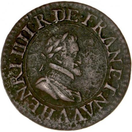 Henri IV - Double Tournois 1610 A