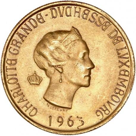 Luxembourg - Médaille duchesse Charlotte (module de 20fr).