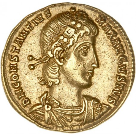 Solidus de Constance II - Thessalonique
