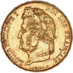 20 francs Louis Philippe Ier 1848 A