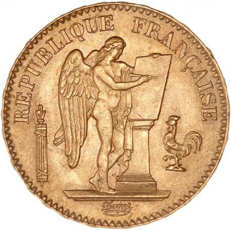 20 francs Génie 1886 A