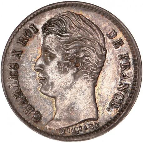 Quart de  franc Charles X 1828 A