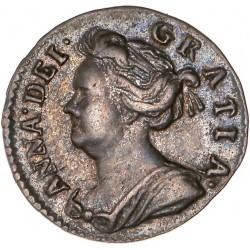"Grande Bretagne -  1 penny ""Maundy"" Anne 1709"