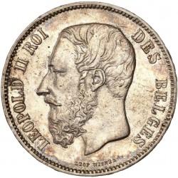 5 francs Léopold II 1875
