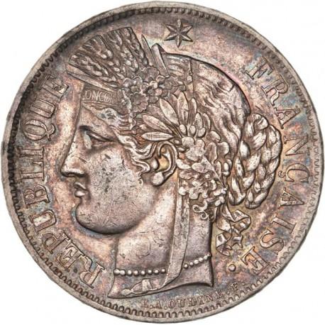 5 francs Cérès 1850 A