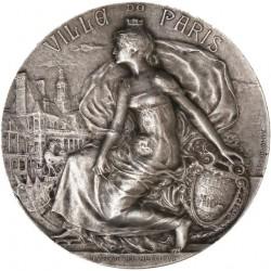 Médaille argent de la ville de Paris