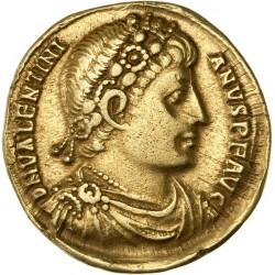 Valentinien Ier - Solidus d'Antioche.