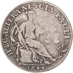 Jeton argent bureau des finances d'Amiens 1657