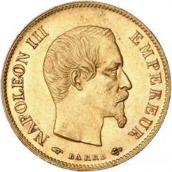 10 francs Napoléon III 1858 A