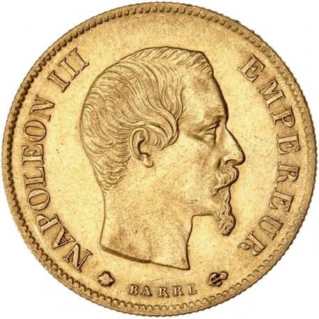 10 francs Napoléon III 1860 BB