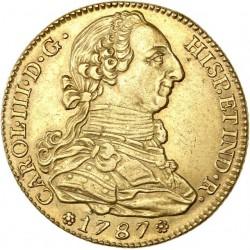 Espagne - 4 escudos Charles III - 1787
