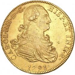 Mexique - 8 escudos Charles IV - 1791