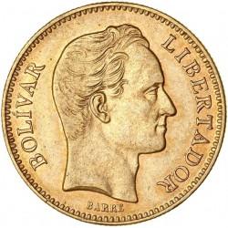 Vénézuela - 20 Bolivar 1880