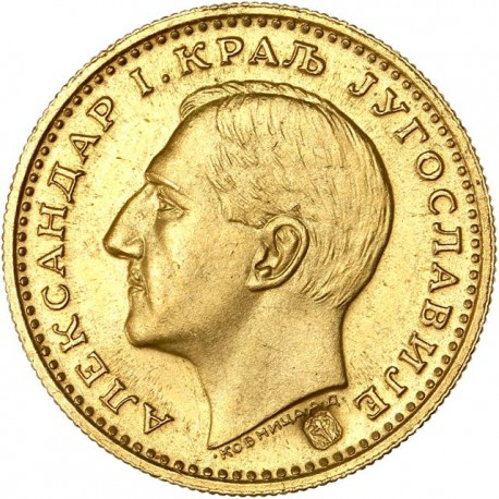Yougoslavie - 1 ducat Alexandre Ier 1931