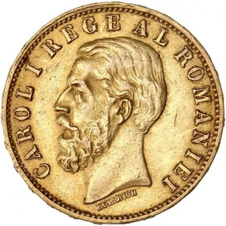 Roumanie - 20 Lei Charles Ier 1883 B
