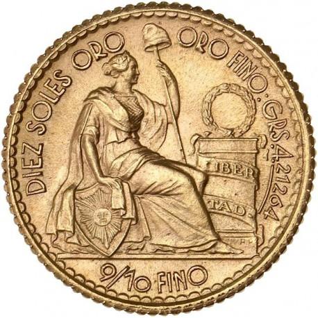 Pérou - 10 Sols 1957