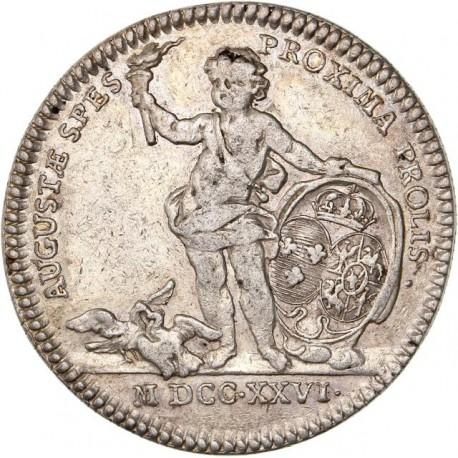 Jeton du Languedoc - Mariage de Louis XV - 1726
