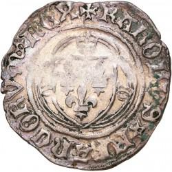 Charles VIII - Blanc à la couronne de Tournai
