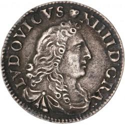 Louis XIV - 4 sols des traitants 1677 D