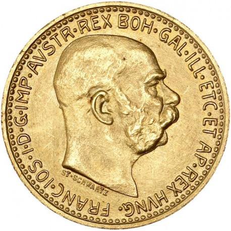 Autriche - 10 couronne 1912 (refrappe)