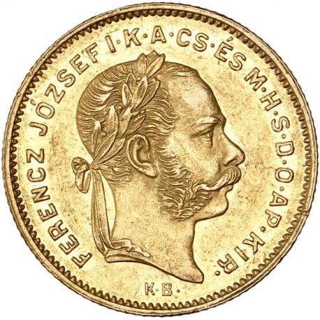 Hongrie - 4 forint 1874