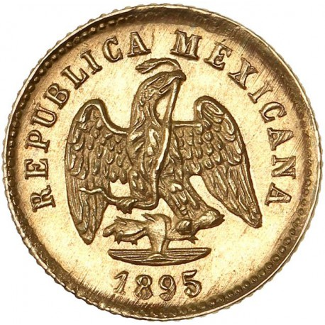 Mexique - 1 peso 1895