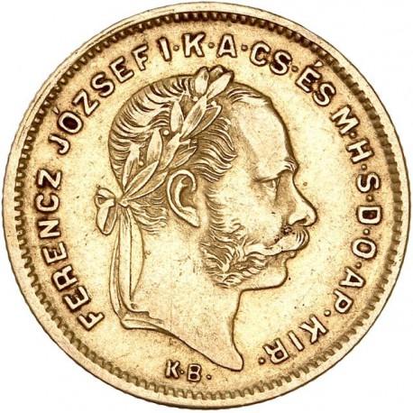 Hongrie - 4 forint 1870 KB