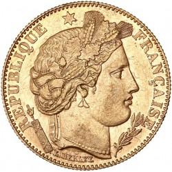 10 francs cérès 1899 A