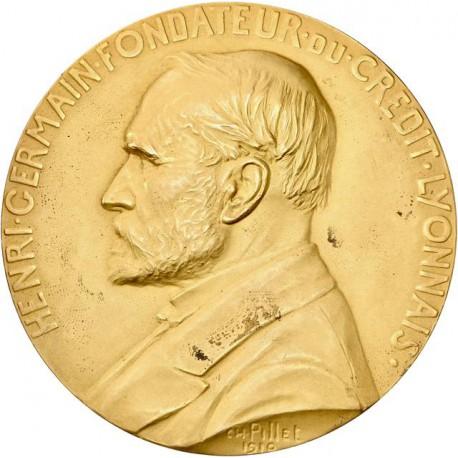 Médaille crédit lyonnais