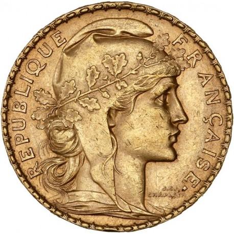 20 francs Coq & Marianne 1900