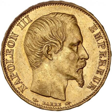 20 Francs Napoléon III 1854 A