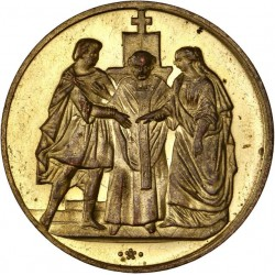 Médaille de mariage : Cinquantième anniversaire